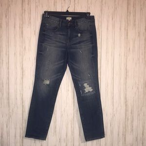 J. Crew Distressed Boyfriend Jeans